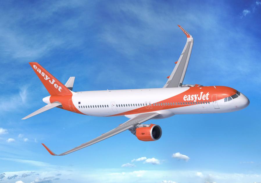 easyJet's Airbus plane