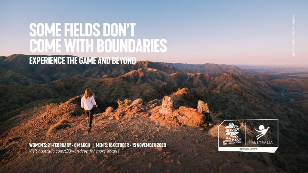 Tourism Australia has launched a new tourism campaign in India to drive visitors ahead of the T20 cricket world cup next year. This image features the Flinders Ranges, South Australia. PICTURE: SUPPLIED