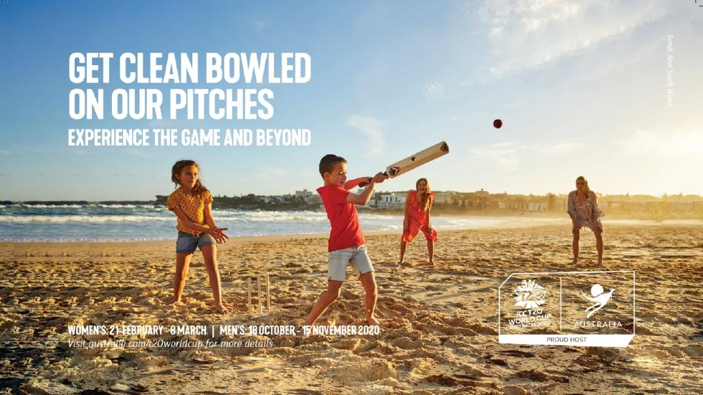 Tourism Australia has launched a new tourism campaign in India to drive visitors ahead of the T20 cricket world cup next year. This image features Bondi Beach, NSW. PICTURE: SUPPLIED